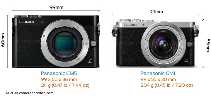 http://cameradecision.com/sizecomparison/Panasonic-Lumix-DMC-GM5-vs-Panasonic-Lumix-DMC-GM1-size-comparison.jpg