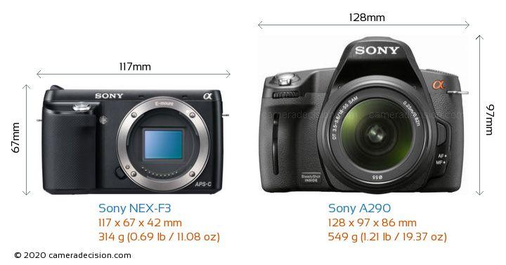 sony nex f3 vs sony a290 detailed comparison. Black Bedroom Furniture Sets. Home Design Ideas