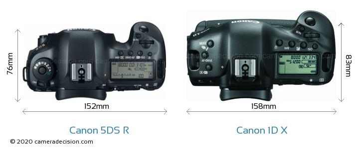 Canon 5ds R Vs Canon 1d X Detailed Comparison