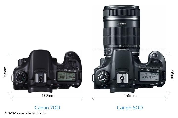 Canon 60d vs 70d body