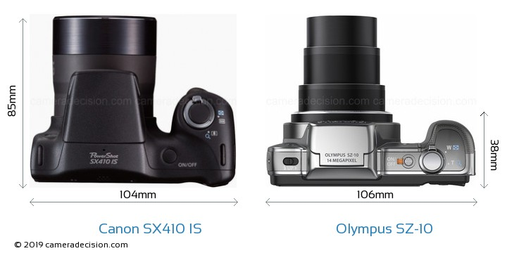 canon sx410 is vs olympus sz 10 detailed comparison Nikon Coolpix olympus sz-20 manuale italiano