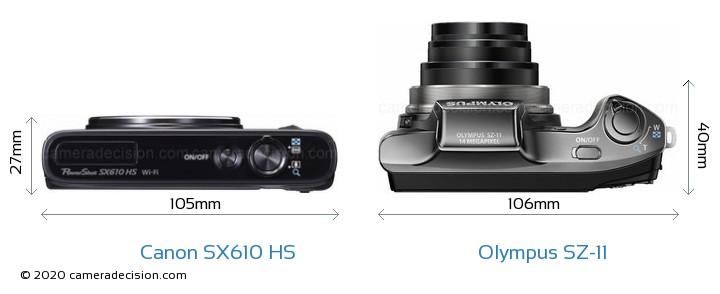 canon sx610 hs vs olympus sz 11 detailed comparison olympus sz-20 manual olympus sz 20 specifications