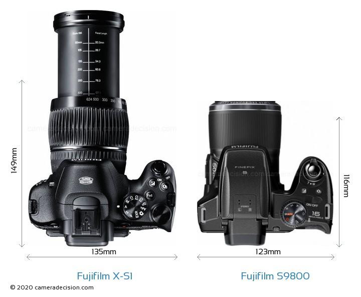 Fujifilm X S1 Vs Fujifilm S9800 Detailed Comparison