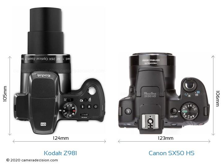 kodak z981 vs canon sx50 hs detailed comparison rh cameradecision com kodak camera z981 manual kodak easyshare z981 digital camera manual
