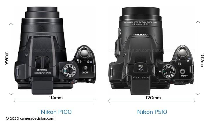 nikon p100 vs nikon p510 detailed comparison rh cameradecision com manual nikon coolpix p510 español pdf Nikon Coolpix L810