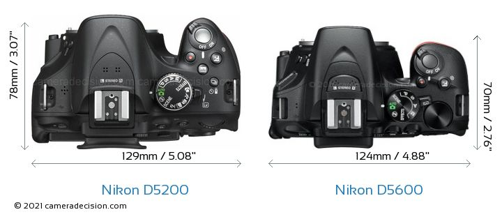 Nikon D5200 vs Nikon D5600 Detailed Comparison