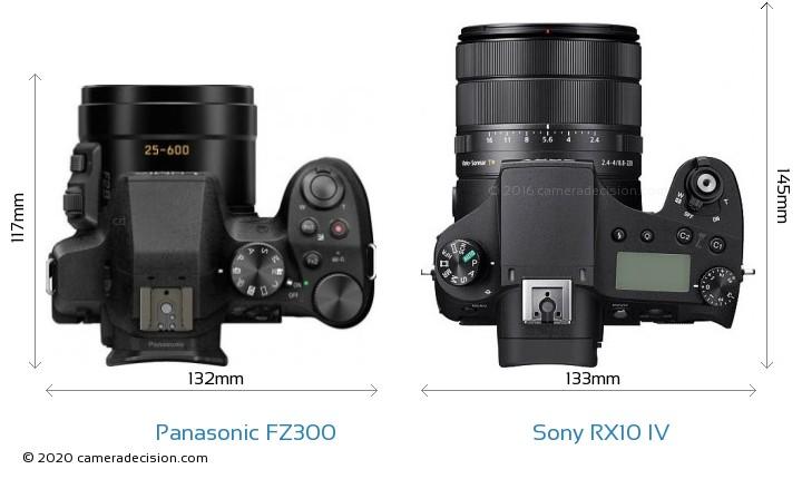 Panasonic FZ300 vs Sony RX10 IV Detailed Comparison