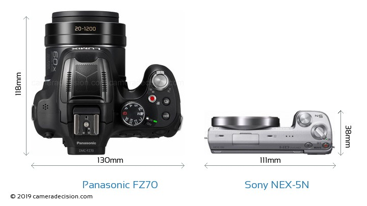 Panasonic-Lumix-DMC-FZ70-vs-Sony-Alpha-NEX-5N-top-view-size-comparison.jpg