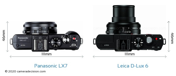 Panasonic LX7 vs Leica D-Lux 6 Detailed Comparison